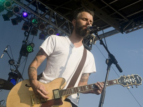 Lucero at LouFest. Check out our entire slideshow of LouFest Day One. - JON GITCHOFF