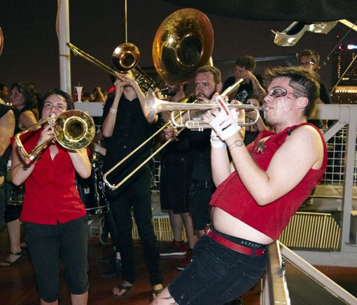 See more photos of the What Cheer? Brigade at the City Museum here. - PHOTO: STEVE TRUESDELL