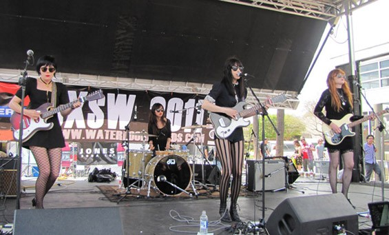 Dum Dum Girls at Waterloo Records - DANA PLONKA