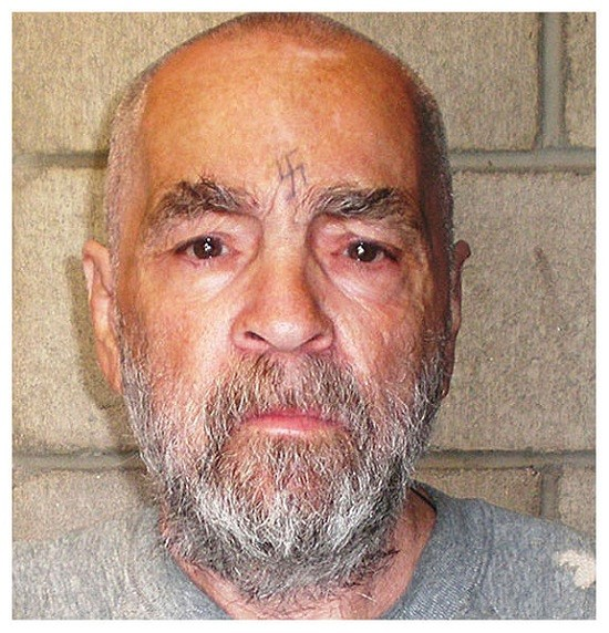 Charles Manson - BOOKING PHOTO