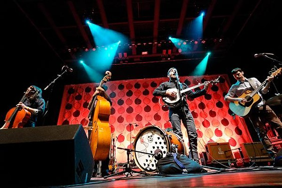Check out more photos from The Avett Brothers at the Pageant. - JASON STOFF