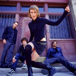 Metric, at Lilith Fair.