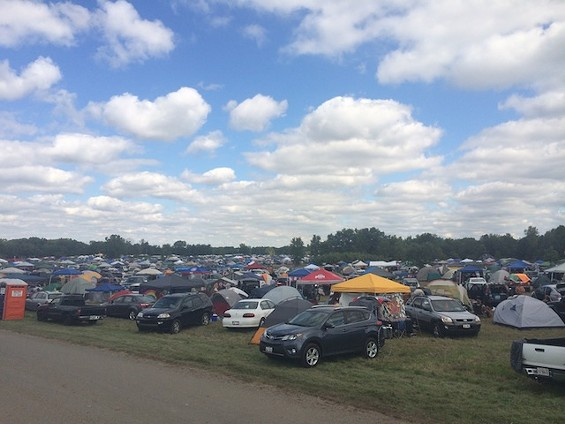 Organizers estimate 8,500 people attended the first-year festival. - PHOTO BY MITCH RYALS
