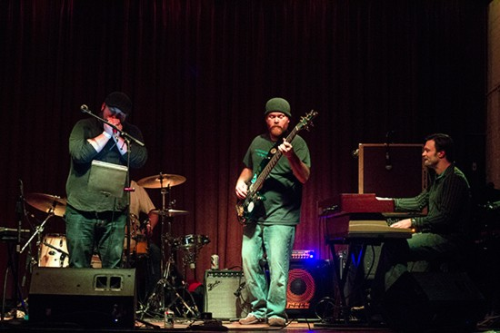 Thunder Biscuit Orchestra performed at the Bootleg's soft opening on February 6. - ALL PHOTOS BY MABEL SUEN