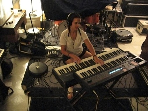 Keyboardist Kiley Kozel - COURTESY OF GENTLEMAN AUCTION HOUSE