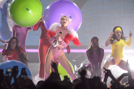 "Thankfully, Miley Cyrus finally convinced the Oxford folks to define ""twerking."" - PHOTO BY ERIK HESS"