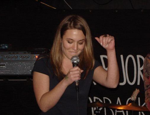 Whistling contest winner Marissa - TODD MCKENZIE