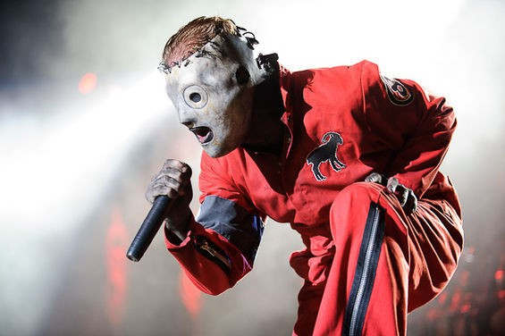 Slipknot returns to St. Louis with Lamb of God on August 16. Check out more photos of Slipknot at the 2012 Mayhem Festival here. - PHOTO BY TODD OWYOUNG