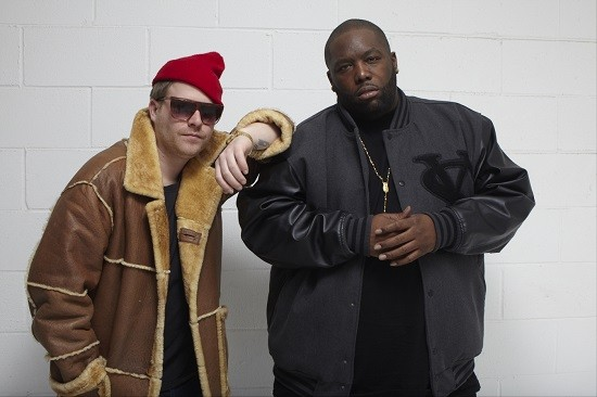 El-P and Killer Mike - PRESS PHOTO