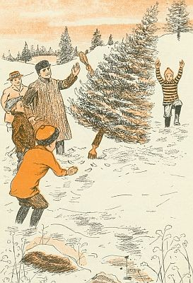 A scene from Christmas Holidays at Merryvale - WIKIMEDIA COMMONS