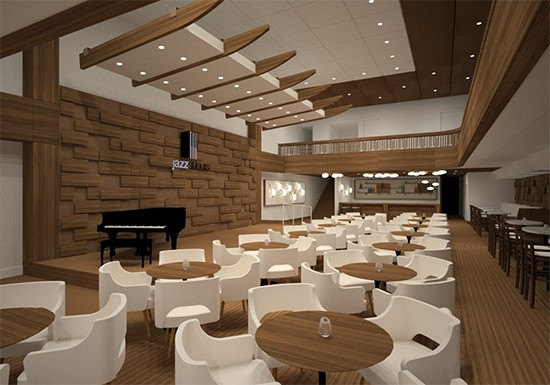 A rendering of the stage. - THE LAWRENCE GROUP