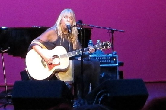 Rickie Lee Jones at the Wildey Theatre - ROY KASTEN