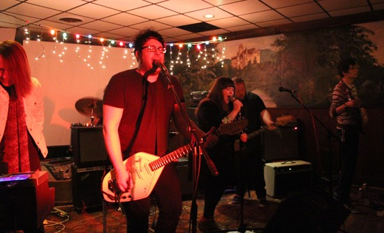 Tone Rodent played an esoteric set, wrought with memorable riffs and solid rhythm. - MABEL SUEN