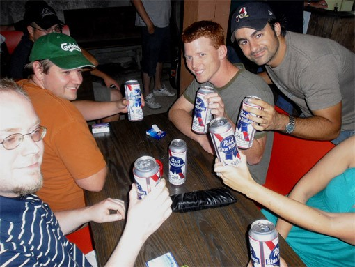 Tall Boy Crew on the Off Broadway Patio