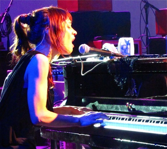 Fiona Apple at Stubb's and SXSW 2012 - DANA PLONKA