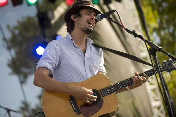 Cory Chisel at LouFest. More photos from day two here. - JON GITCHOFF