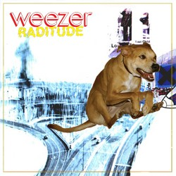 """If this were the cover of an actual Weezer album, the title would be neither """"Weezer,"""" nor """"OK Computer,"""" nor """"Raditude."""""""
