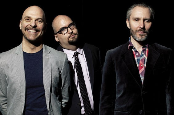 The Bad Plus plays a double-header this weekend at the newly renovated Jazz at the Bistro. - PHOTO BY CAMERON WITTIG