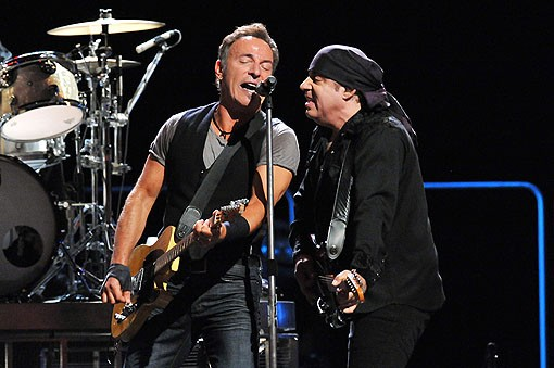 Bruce Springsteen last night at the Scottrade Center. View more photos from last night's show. - PHOTO: MARK GILLILAND