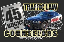 Got a bad rap? Traffic Law Counselors understands. - 45BUCKS.COM