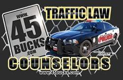 Got a bad rap? Traffic Law Counselors understands. - 45BUCKS.COM