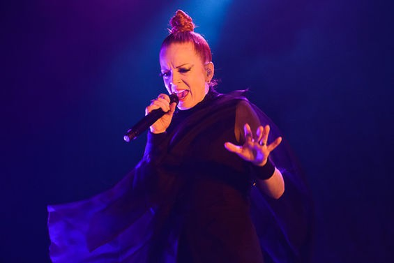 Garbage, last night at the Pageant.