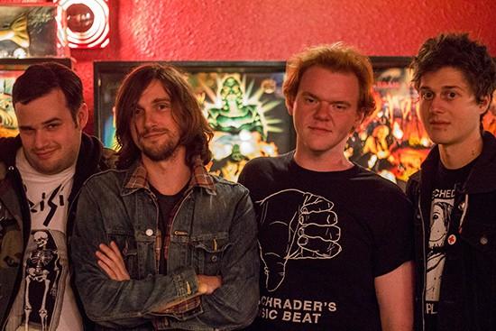 Bad Dates is John Birkner, Geoff Naunheim, Mark Willey and Gabe Karabell. - MABEL SUEN