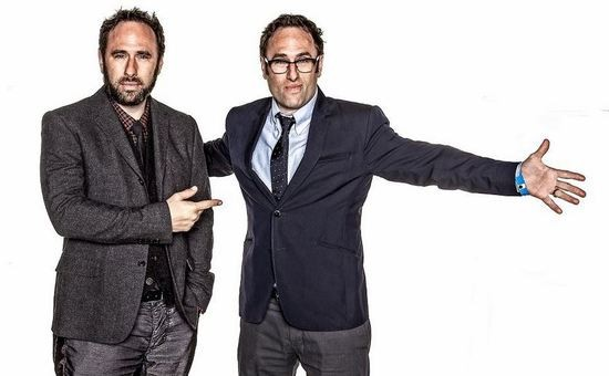 Randy and Jason Sklar will perform at the Pageant this Saturday. - PHOTO VIA SCHEURSHOTS.COM