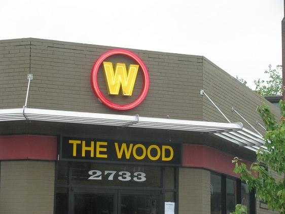 The Wood opened in late May in the old Deluxe location, 2733 Sutton Avenue in Maplewood. - ANNIE ZALESKI