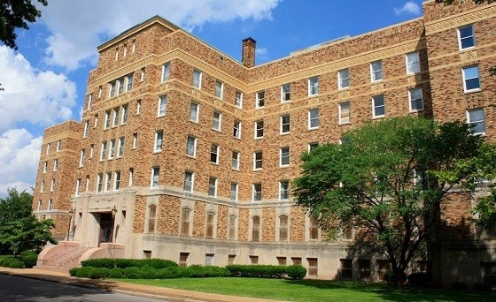 Homer G. Phillips Hospital now sits on the site of Chuck Berry's birthplace. - CHRIS NAFFZIGER