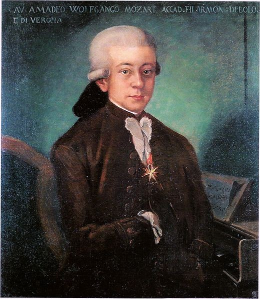 Mozart: Lived broke, died broke. What, do you think you're better than Mozart? - VIA WIKIPEDIA