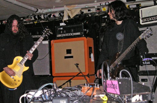 SunnO))) brings its droning brand of metal to the Firebird July 8. - VIA WIKIPEDIA