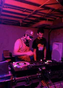DJs MAKossa and Hal Greens. - COURTESY OF RORY FLYNN
