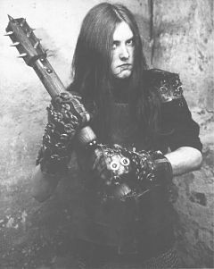 This man was convicted of killing his black metal rival and burning down four churches. Good news: He's out on parole and released a new album this year.