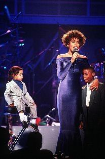 Whitney Houston's decline doesn't erase her musical legacy. - WIKIMEDIA COMMONS