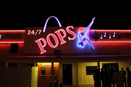 Pop's rocks 24/7, we've heard. - DIANA BENANTI