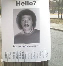 Street art, internet meme, or both? That is the question. - RANDY OSBORNE?