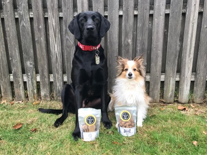 Dogs of all shapes and sizes love these treats! - COURTESY OF THE CRAFTED BONE