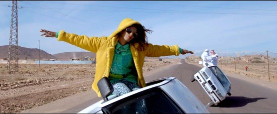 M.I.A., NOT CARING WHO WINS.