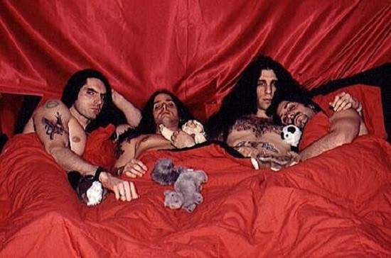 Type O Negative - ANCIENT PRESS PHOTO FROM OLD TIMEY TIMES.