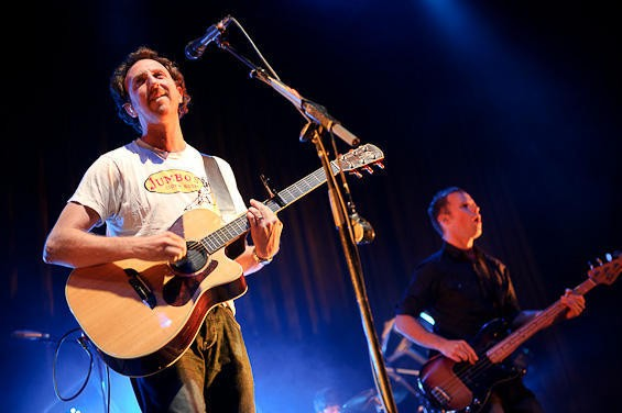 It's Guster! View a slideshow of Guster and Everest's October 9 Pageant show. - TODD OWYOUNG