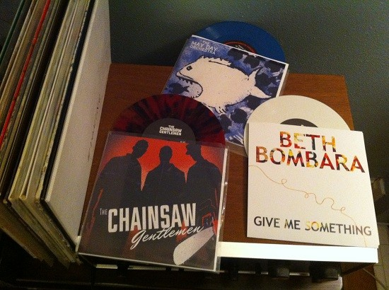 New Releases from the Chainsaw Gentlemen, Beth Bombara and the May Day Orchestra.