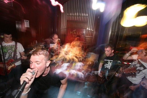 The Humanoids perform at the Halo Bar during the RFT music showcase back in June. - PHOTO: NICK SCHNELLE
