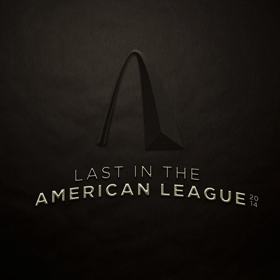 Last in the American League album cover.