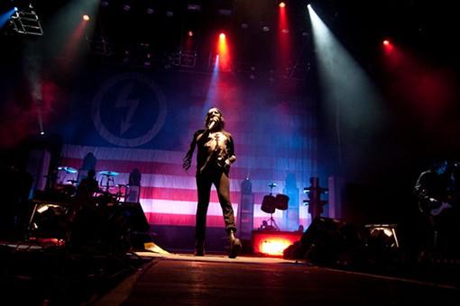 Marilyn Manson - PHOTO: KENNY WILLIAMSON