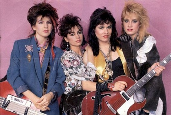 The Bangles then.