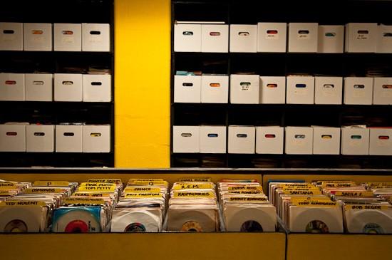 The 45 Room in The Record Exchange - BRIAN HEFFERNAN