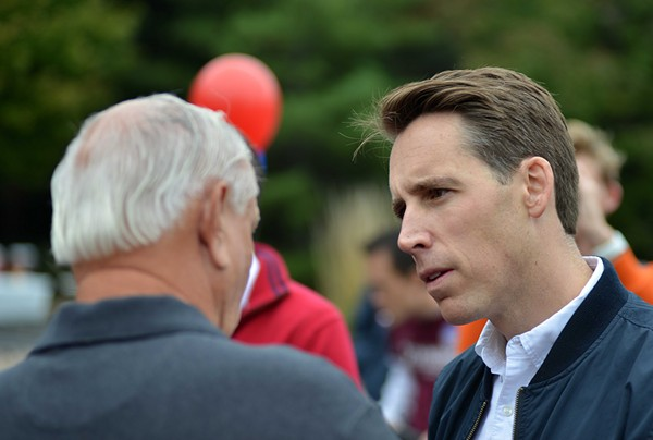 Is Josh Hawley looking for a new daddy? Trump might want to step in. - TOM HELLAUER