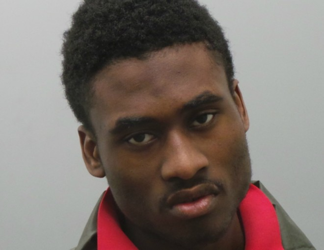 Joshua Pollard stole guns from St. Louis police cars, authorities say. - COURTESY ST. LOUIS COUNTY POLICE