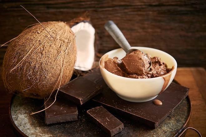 Chocolate coconut fudge .... yum. - COURTESY OF CLEMENTINE'S CREAMERY